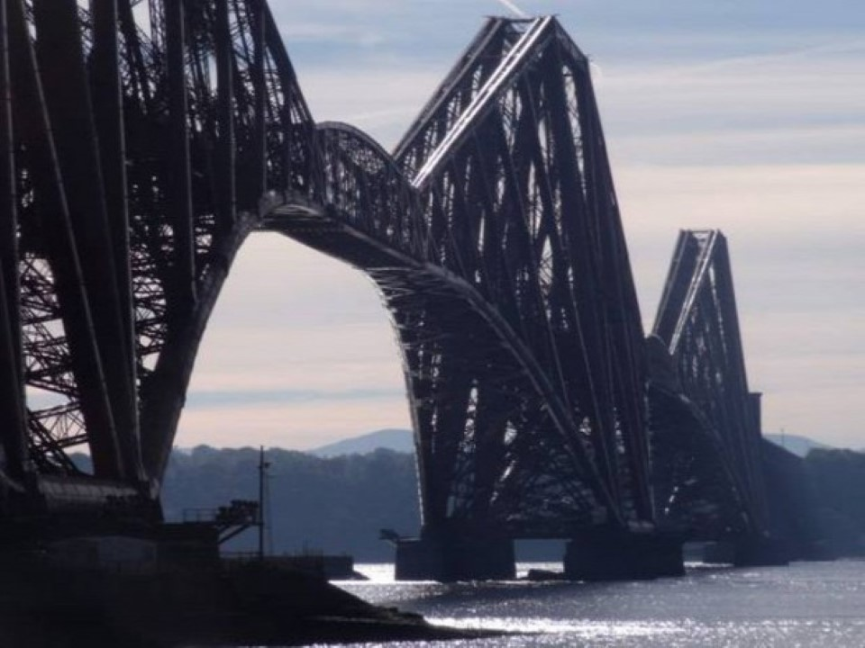 Forth Bridge, Edinboroug, Skócia, Nagy-Britannia (Custom)