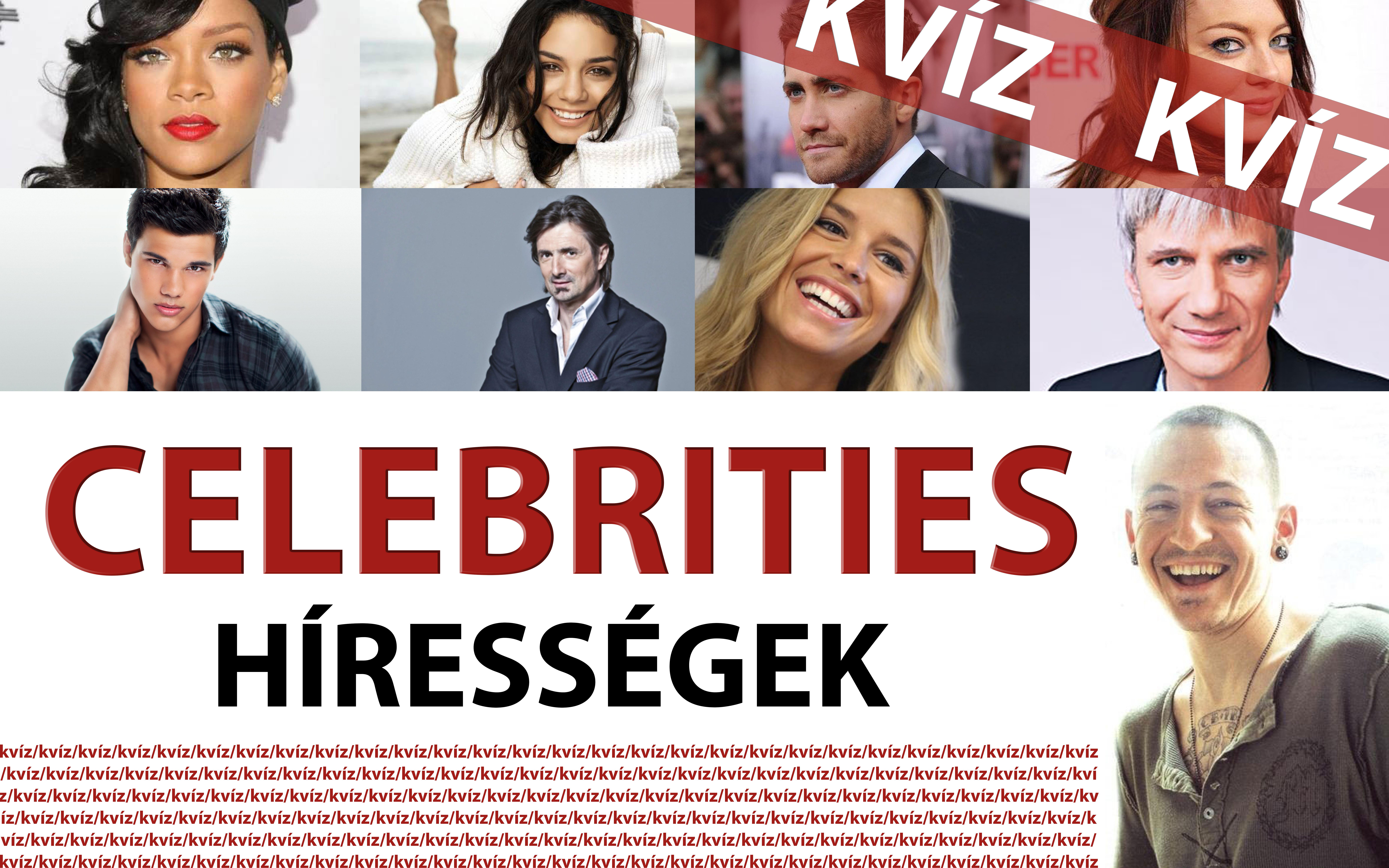 szia.sk - Kvíz: Celebek – Ismered a hírességeket?