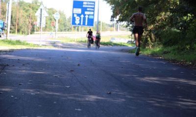 szia.sk - A kerékpárosok és görkorcsolyázók birtokba vették a megújult ligetfalui töltést